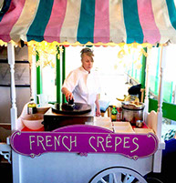 French Crepe Stand at Children's Birthday in Erith from Fruits & Fountains
