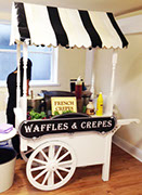 Waffles and Crepes cart - Birthdays and Weddings